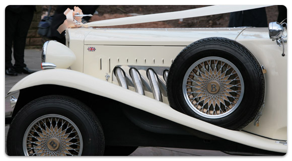 A beautiful Beauford car